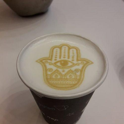 קפה עם הדפסה | מרקטינג יו